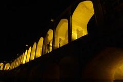 iran_013 (muddycyclist) Tags: panasonic lumix lx7 iran isfahan esfahan bridge night