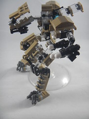 Trident exploded view closeup (donuts_ftw) Tags: lego mecha mech moc robot military missile metalgear exploded