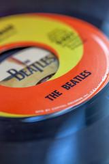 Macro Mondays (JMS2) Tags: macromondays macro thebeatles theme records 45rpm nostalgia memories ilovethebeatles beatlesbeetles