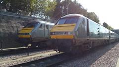 82301-82302 Wembley (clive2001uk) Tags: uk trains depot railways chiltern wembley dvt mainline