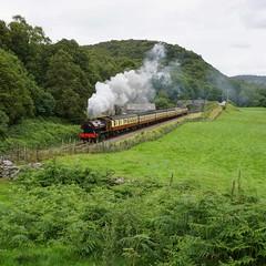Lakeside & Haverthwaite Railway (McTumshie) Tags: england train unitedkingdom lakedistrict railway victor locomotive steamengine steamrailway steamlocomotive bagnall 2996 newbybridge lakesidehaverthwaiterailway