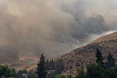 Fire on All Levels - 2 (benagain_photos) Tags: washington butte wa fires chelan wildfires reachfire chelancomplex