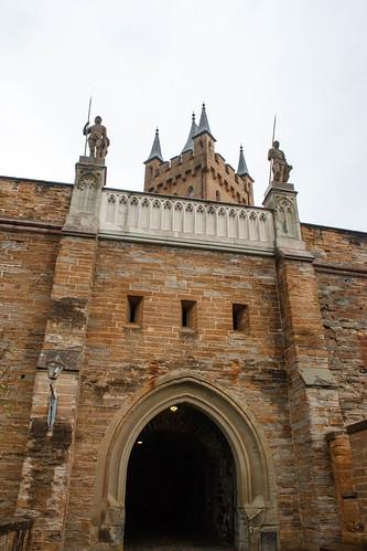 Entrée du château de Hohenzollern
