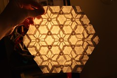 Artifact of the Sun Tessellation (Byriah Loper) (Byriah Loper) Tags: paper star origami polygon tessellation paperfolding byriahloper