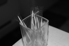 Tooth Picks (PhotoLadon) Tags: white black like toothpicks