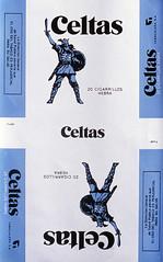 CELTAS CORTOS (Manel Armengol C.) Tags: smoke smoking warrior celtic cigarettes 1979 diseño tobacco espada packofcigarettes guerrero escudo cigarrillo celticwarrior coverdesign celtascortos celtas spanishcigarettes tabaconegro celtascorto blacktobacco guerrerocelta
