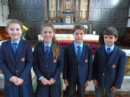 Sports Captains - Poppy and Markel, Vice Captains - Chloe and Eric