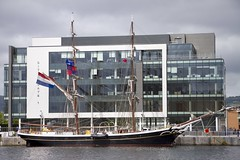 """Tall Ship Morgenster Belfast 2015 (Canon John's 7D (Wow! 3,000,000+ views, Thanks)) Tags: city fun sails mast ropes rigging morgenster """"belfast council"""" """"tourist """"tall attraction"""" ships"""" 2015"""""""