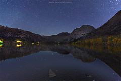 Starry Night At Silver Lake (hazarika) Tags: california lake stars fallcolors silverlake nightshots sierras canon1635mmf28liiusm canon5dmarkiii fall2015 mausamhazarikaphotography
