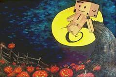 Ode to Jack Part 2 (karmenbizet73) Tags: art halloween toys photography flickr toystory random storybook storytime eyespy danbo 243365 danboard photodevelopment herecomeshalloween danbolove odetojack toysunderthebed 2015365photos