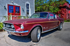 1967 Ford Mustang (robtm2010) Tags: auto ri usa ford car canon island automobile newengland 1967 vehicle mustang rhode musclecar t3i fastback wickford