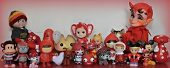 Red-O-Rific! (Lawdeda ) Tags: friends red people dog sorry girl true angel vintage frank mouse paul toys cookie all with little you disney mickey polka dot fortune shelf have momiji elf card angels come devil wish sonny gee rider mitten kamar roddie treeson i lalaloopsy picmonkey