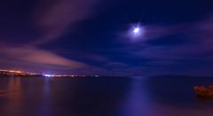 Night horizon (Tomislav C.) Tags: sea sky panorama moon night clouds landscape lights bay coast rocks long exposure gulf panoramas croatia astro coastal astrophotography hr opatija adriatic astrophoto adriaticsea hrvatska rijeka volosko kvarner vawe kvarnergulf kvarnerbay primorskogoranskažupanija pentaxk3