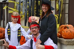 Pirate Family (Joe Shlabotnik) Tags: halloween costume lily pirates madeleine sarahp 2015 bliksem afsdxvrzoomnikkor18105mmf3556ged october2015
