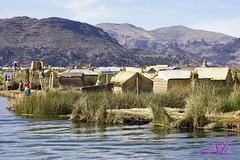 Floating islands (Nancleve) Tags: vacation lake peru titicaca floatingislands