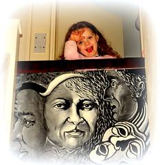 the watchers (barry burke1) Tags: portrait people art kids portraits indoor groupshot