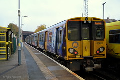 508111 - Walton (AJHigham) Tags: blue me station rail class story emu beatles service walton mersey livery ormskirk 508 508111