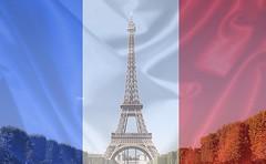 Pray For Paris (Circ Grand) Tags: city paris france vintage french for flag pray memories eiffeltower toureiffel capitale hommage ville drapeau prayforparis
