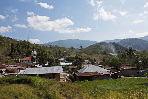 Moni village view