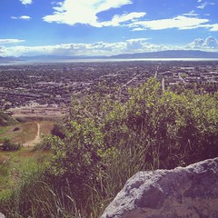 Utah Valley (edgarzunigajr) Tags: nature utah peace relaxing hike views mormon lds provo utahvalley brighamyounguniversity topofthey