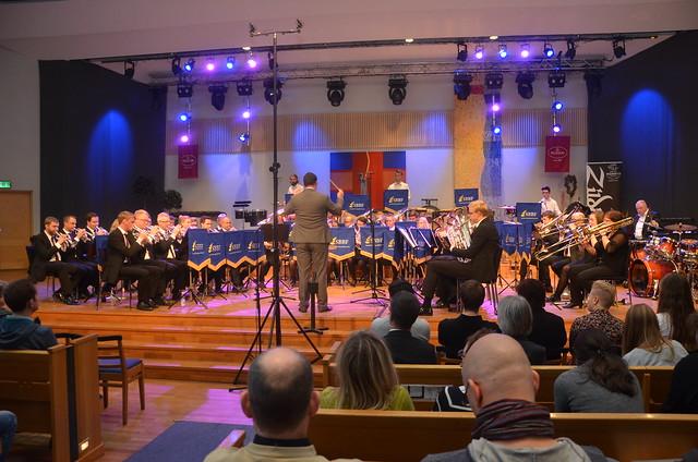 Åsenhöga Brass Band - Dir: Patrik Randefalk