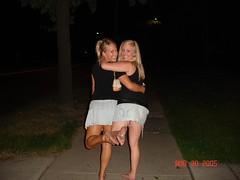 501331660wuDfuK_ph (Zappacity) Tags: street girls cute sexy women couple nightout posing barefoot soles matchingoutfits dirtyfeet