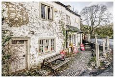 The Old Post Office at Malham (Digital Wanderings) Tags: england village postoffice malham yorkshiredales