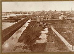 First Ward, High Water, Early Photo by Love
