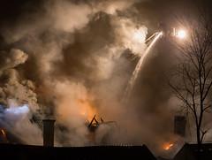 nedrefossgrd_brann01 (Eirik Berntsen) Tags: oslo norway fire norge smoke flames firemen foss grnerlkka firefighters brann grd nedre