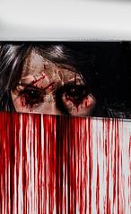 (Glen Parry Photography) Tags: portrait photoshop dark photography blood nikon zombie gore horror macabre darkart studiophotography darkimages horrorphotography d7000 glenparryphotography