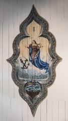 Igreja Nossa Sra.do Rosrio detalhe do teto (Denise Alvarez Garca) Tags: de do minas gerais colonial igreja brasileiro detalhe teto nossa construo escravos periodo srado