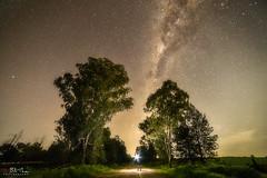 The Dark Road (Bill Thoo) Tags: milkyway longexposure parkes nsw australia landscape astrophotography night stars travel mystical explorer ngc sony 14mm samyang a7rii