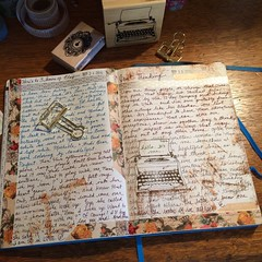 Some things or people just change you.  Journaling 9.25.16 by Kathryn Zbrzezny. (Kathryn Zbrzezny) Tags: journal visualjournal visualdiary write writers handwriting handwritten leuchtturm1917