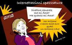 """Roma, la Muraro, """"Ho scambiato un acronimo per un imperativo"""" (SatiraItalia) Tags: satira roma muraro intercettazioni"""