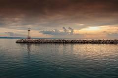 No title (Vasdokas) Tags: vasdokas greece thessaloniki colors sea sky sunset beacon clouds macedonia
