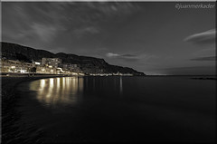Aguadulce (juanmerkader) Tags: monsul nikond750 picture seascape seascapes beach nikon nocturna nocturnas pic picofftheday playa sand sea aguadulce agua espaa europe spain andaluca andalusia night nightscape reflejos almera arena