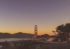ride views (flrent) Tags: sanfrancisco california tatsunis golden gate bridge view ride sunset