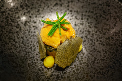 Bibimbap, Hkkaido Uni, Kimchi, Seaweed (Premshree Pillai) Tags: singapore singaporeaug16 summer summer2016 meta restaurant dinnerorone dinner food dinnerforone uni