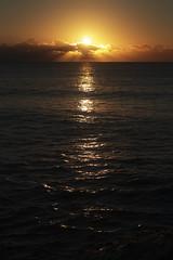 A new beginning (Jacko 999) Tags: sun sunrise golden goldenhour sea seascape roberteede reflection orange yellow water beauty beautiful pretty