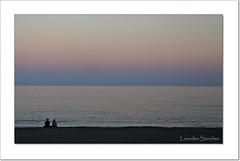 Atardecer en la playa (Lourdes S.C.) Tags: atardecer anochecer ocaso playa costa costamediterrnea andaluca