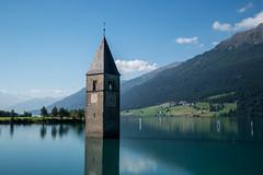 Lago di Resia (mgirard011) Tags: curonvenosta trentinoaltoadige italie it 200faves