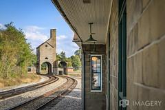 Coal Tipple (AP Imagery) Tags: trainstation irvington abandoned ky traintracks coal rr train history tipple tracks rural kentucky traindepot railroad usa