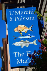The Fish Market / Sign (Images George Rex) Tags: sthelier jerseyci uk photobygeorgerex imagesgeorgerex channelisles jersey blue fish sign fishmarket