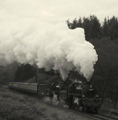 Raindale (feroequineologist) Tags: 76038 76079 76084 levisham levishamstation northyorkshiremoorsrailway nymr steam railway train