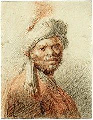 medievalpoc: att. Jan Lievens Moorish Man with Turban in Half-Length Netherlands (c. 1627-1629) red and black chalk on paper, 19.2 x 14.8 cm. Private collection An extremely Important update: (medievalpoc) Tags: omg immortal vampire time traveler all good theories