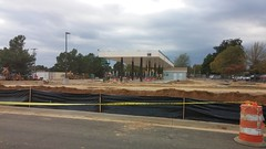 New fuel center, as seen from the new parking lot (Retail Retell) Tags: kroger marketplace v478 hernando ms desoto county retail construction expansion project