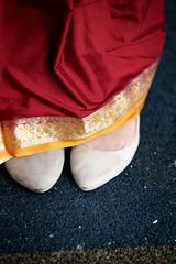 DSCF9365 (tzeyangtan) Tags: deepavali indian traditional red gold details smiles