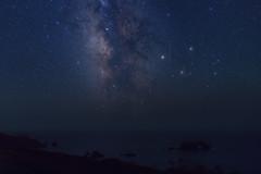 The Milky Way and a Meteor (fksr) Tags: milkyway meteor stars night sky pacificocean shore rocks landscape sonomacounty california astrometrydotnet:id=nova1774596 astrometrydotnet:status=solved