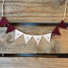 Noah (Emma Bunting) Tags: birthday bunting cake mini emma happy vintage retro straws handmade made britain