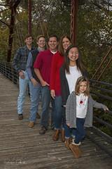 Mark's Family on Bridge (Stephen J Pollard (Loud Music Lover of Nature)) Tags: mark paige libby nick zachary claire family familia smiles sonrisas portraits retratos